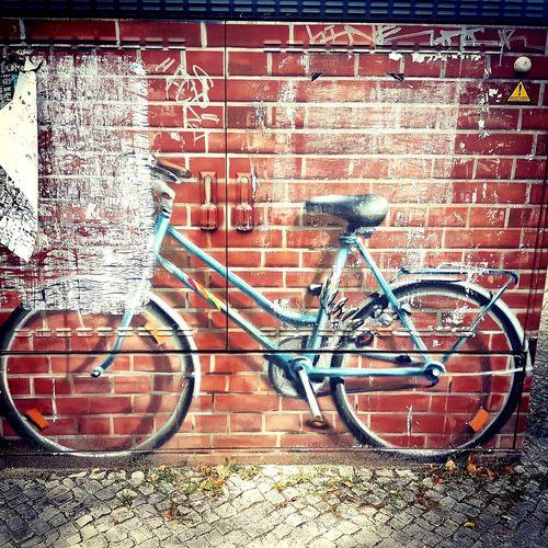 EyeEmNewHere Bike Street Art Mural Art Muralart Streetphotography Streetart Street Germany Germany Travel Potsdam_city Bicycle No People Architecture