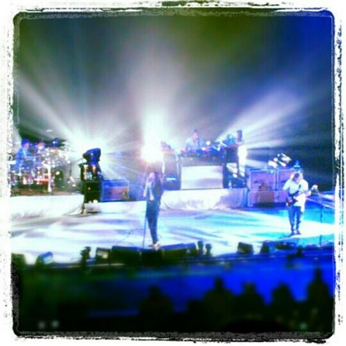 Happy memories of watching my favourite band Incubus Manchesterapollo Live Gig music inspirational