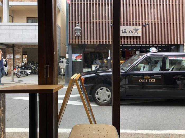 Hanging at Vermillion - espresso bar Mode Of Transportation Street Entrance Building Exterior Motor Vehicle