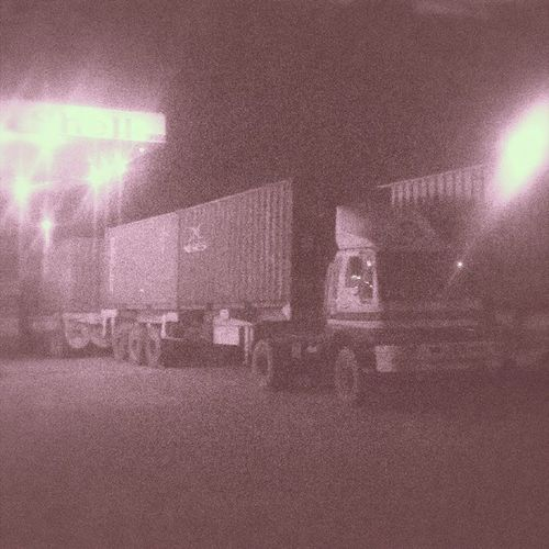 ContainerZada mulk Wapsi Sahiwal Shell Trucks Container Lategram Night