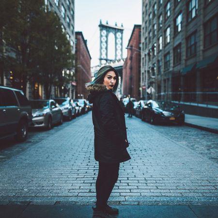 Enjoying Life Taking Photos Showcase: December NYC Manhattan Bridge Winter Blue Wish I could stay on vacation.