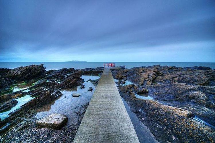 Through the breeze | Malahide, Ireland Dublin Ireland Lovedublin Malahide  Coast Landscape Throughthebreeze Rocks Sea Irishsea Longexposure Nikonireland