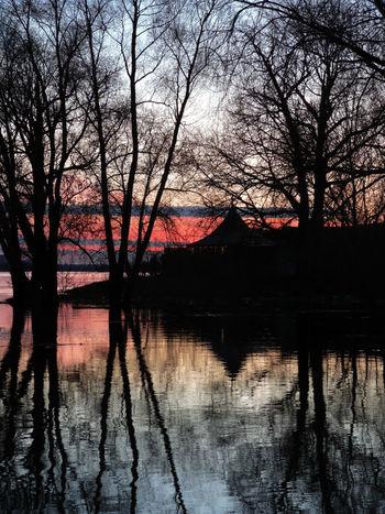 Volzhsk закат 🌅 река волга 🌊 Весна💐🌷🌿 вода💧