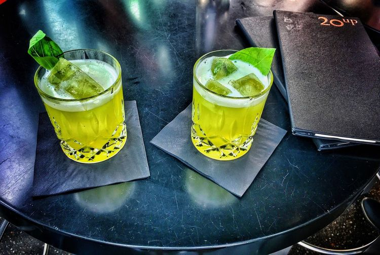 20upbar Hamburg Drinking Glass Gin Tonic Ginbasilsmash EyEmNewHere