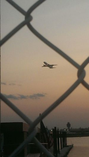 Yatchclub Laguardia Airport Airplane Sunset Beautiful SneakPeek 2014 The Sky The Best Of New York