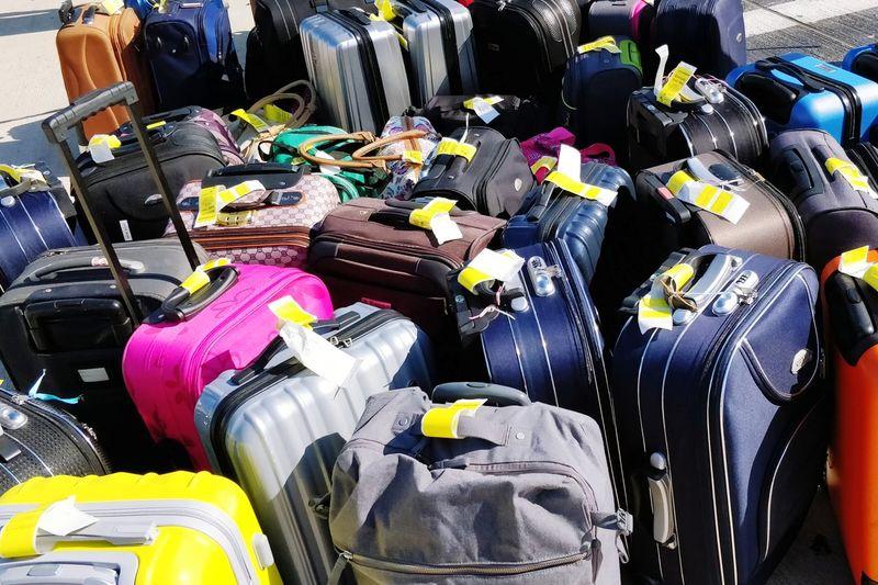 Trolleys Luggage Trolleys Choice Variation Retail  Close-up