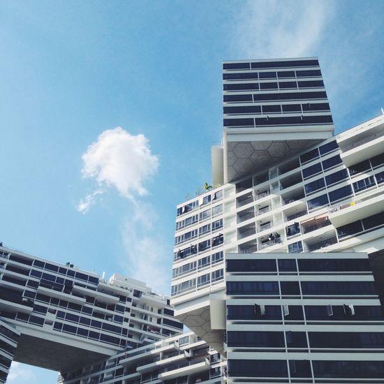 Architecture Sky And Clouds Building Unique Condominium Singapore OpenEdit Popular Photos
