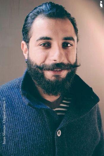 Bearded Fashion Man Photoshoot