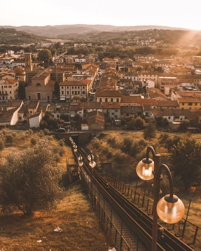 Certaldo Italia Italy Architecture Building Exterior Built Structure Building Residential District City Nature High Angle View Cityscape Town Outdoors House Sunlight Sky TOWNSCAPE Old Day EyeEmNewHere