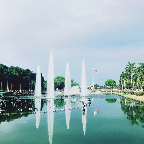 Luneta Park Luneta Flag Philippines Philippine Flag Famous Landmarks RizalParkPhilippines RizalPark