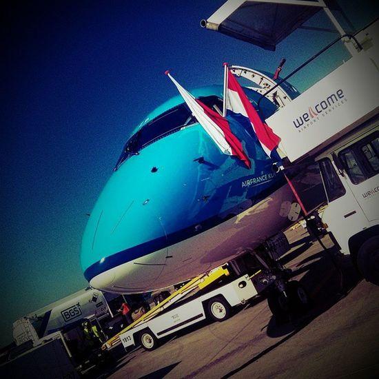 Inauguracja KLM w Krakowairport ;-)
