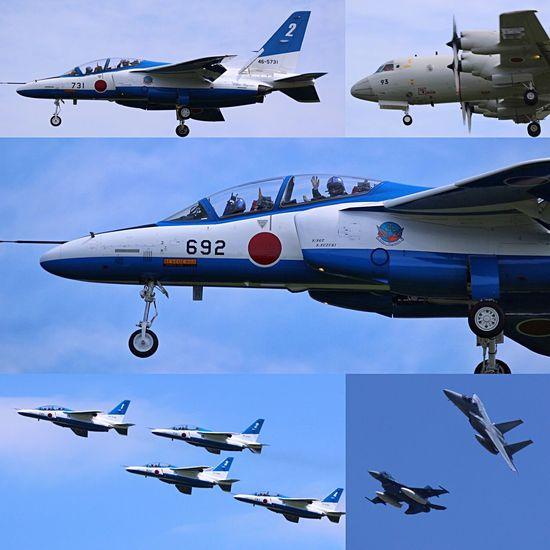 彦根城築城410年祭に向かうブルーインパルス 岐阜基地にて。 Airplane Flying Air Force Sky EyeEm Best Shots Blue ブルーインパルス