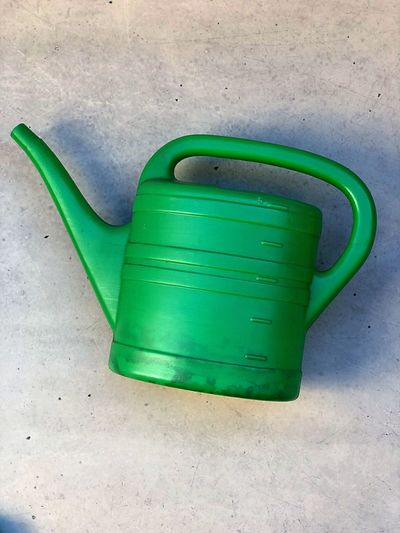 things Nature Water Clean Simple Vintage Watering Can Garden Photography Bottle Plants Green Color High Angle View Sand No People Beach Day Outdoors