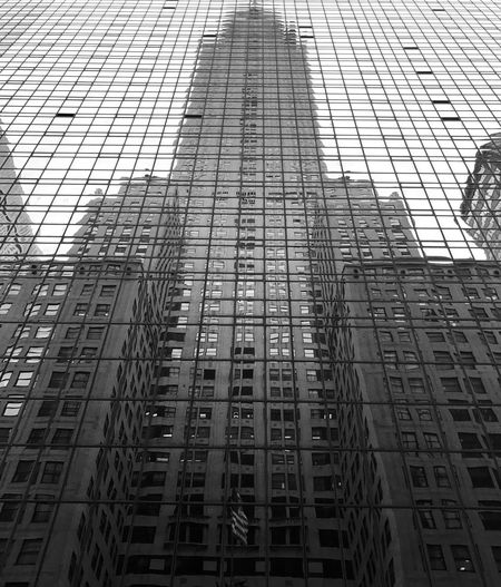 Architecture Built Structure Building Exterior Low Angle View City Skyscraper Sky Reflection