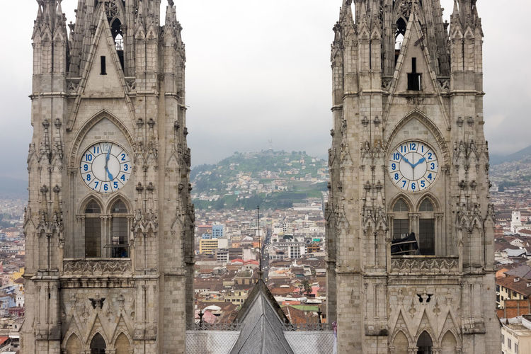 Cathedral of quito against sky
