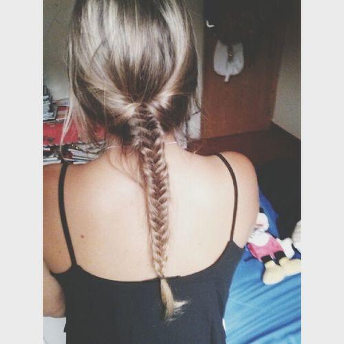 Fishbraid Fishtail Braid Blonde Me