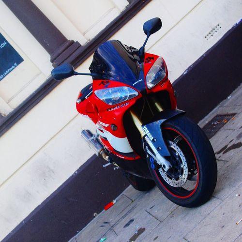 Yamaha YzfR1 mototrcycle Yamaha EyeEmBestPics Bike Photography Motophotography Parked EyeEm Posing Hastings Street