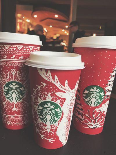Starbucks ✨ Starbucks Redcups Christmasfeeling