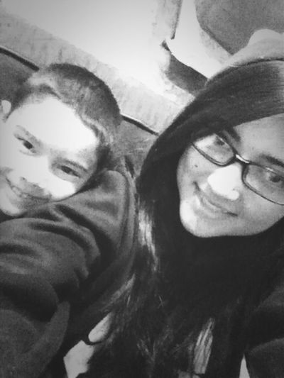 Happy New Years?! My little nephew and I. :) <3