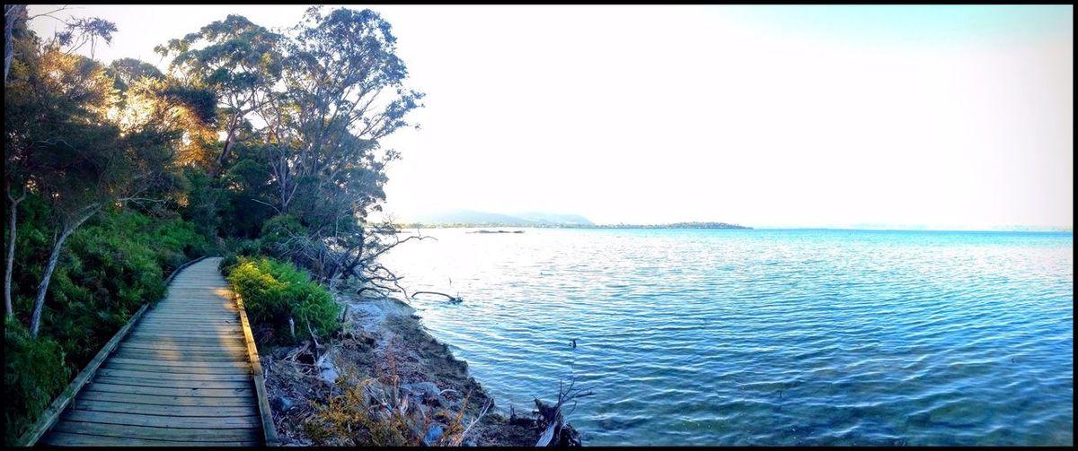 Lake Rotorua lakefront walkway, New Zealand Peace And Quiet Relaxing Walk