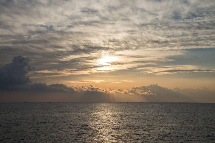 In the morning of Ayajin Port, Goseong, Gangwondo, South Korea Ayajin Beauty In Nature Cloud - Sky Dawn Day Morning Nature No People Outdoors Reflection Refraction Scenics Sea Sky Sun Sunrise Sunset Water