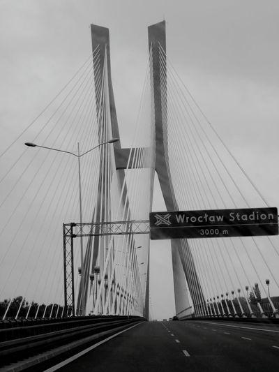 B&w Street Photography Bridge Modern Architecture Wroclaw, Poland Wroclove Black & White Moderndesign