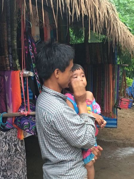 Love and poetry Family Love Fathers And Sons Holiday Vacation Chang Mai Thailand Tribes Houses poetry