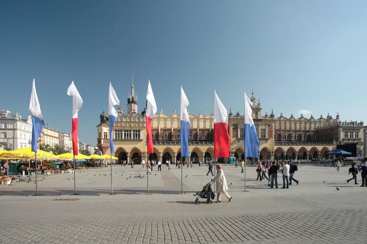 Kraków, Poland Poland Cracow Flag Flags Krakow Polen
