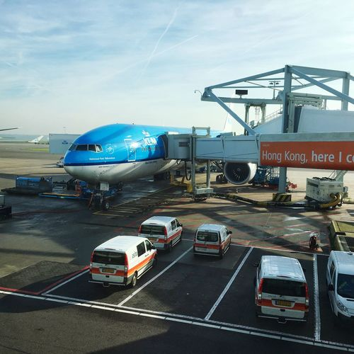 My ride to SPIM - PH-BVK Traveling Holland Amsterdam KLM Airport Airplane
