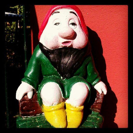 Hi Sleepy ...or Sneezy ...Dwarfs Snow white tales onceuponatime sculpture fantasy igers igersitalia