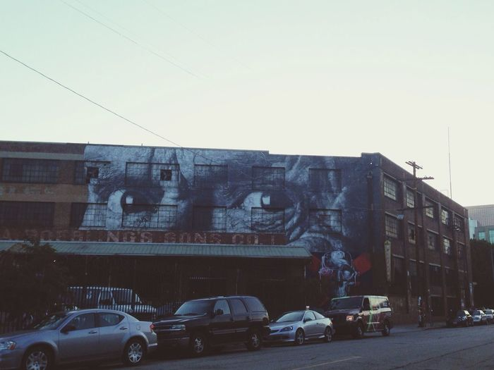 Dtla Art District Street Art Graffiti LA Graffiti