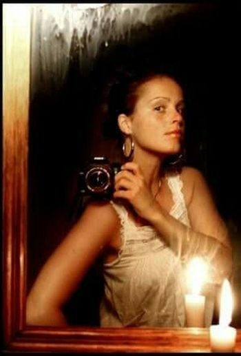 A selfportrait a couple of years ago. Taking Photos Self Portrait Selfies Selfietime Candles Mirror Mirrorselfie Cheese! Hello World Getting Inspired