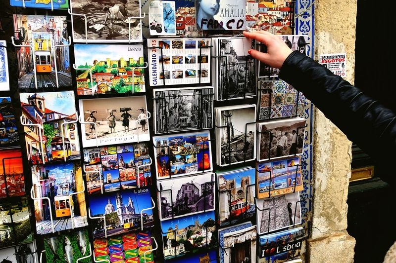 The one to tell 'I miss you' Lisbon Postcard Postcards Postcrossing First Eyeem Photo