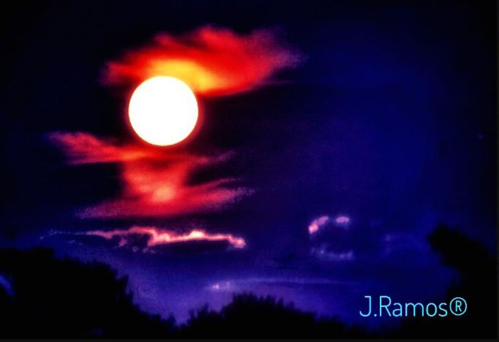 No People Astronomy Night OH !!!! La Luna !!!