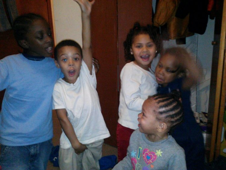 My Brother , & My Niece's & Nephew's (: