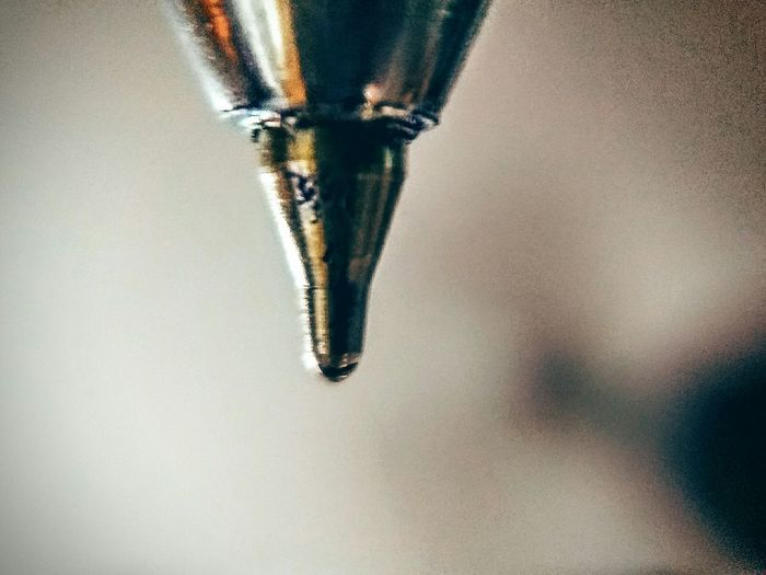 Its not a missile head....its just the tip of something which is more powerful when used for the right purpose by the right person Still Life Close-up Selective Focus No People Ballpoint Pen Motog4plus Frontcamera UltraZoom