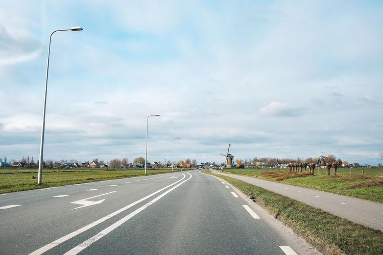 View of highway against sky