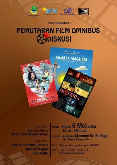 Festivalfilmbandung Forumfilmbandung Ruangfilmbandung Film Nasional INDONESIA Bandung present