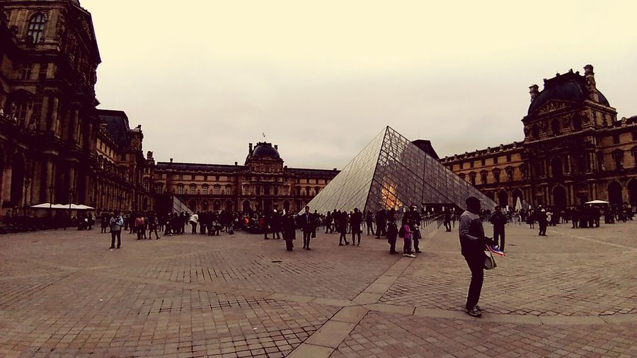 City Ancient Civilization Pyramid Crowd King - Royal Person History Sky Architecture Building Exterior Built Structure