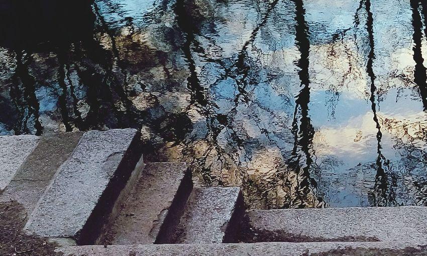 Berlin Water Reflections River Walk
