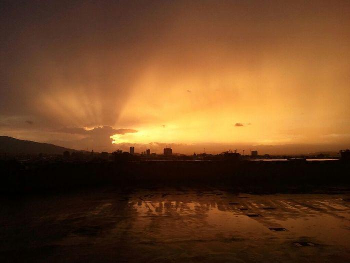 Sunset Magic Hour Atardecer Mall San Pedro