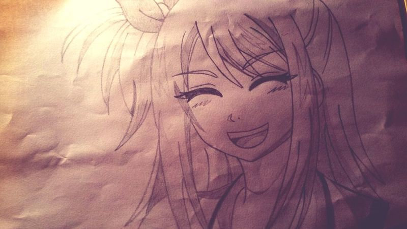 Lucy Lucy Heartifilla Anime Manga Anime Drawing Manga Drawing Drawing FairyTail Fairy Tail Drawings