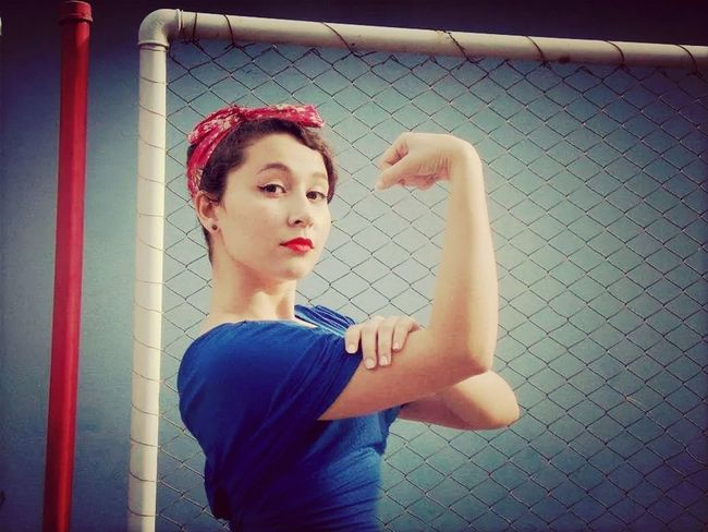 YES! We can do it ;) Pinup Pinup Girls<3 Wecandoit Look