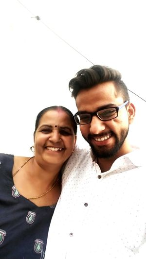 She complained that we don't have pics together Smiling Togetherness Happiness Mumma Mummy Love