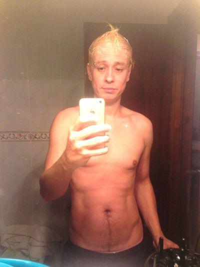 Blonder boy!