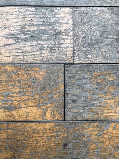 Wood Full Frame Backgrounds Textured  Wood - Material Pattern No People Weathered Day Old Close-up Rough Flooring Damaged Wall - Building Feature Plank Built Structure Outdoors Wood Architecture Directly Above