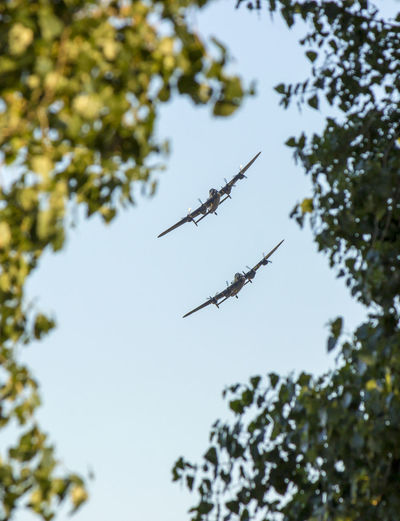 2lancasters Lancaster Lancaster Bomber Plane Planes Raf Ww2