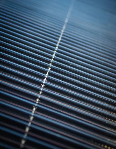 Full frame shot of solar thermal power plant
