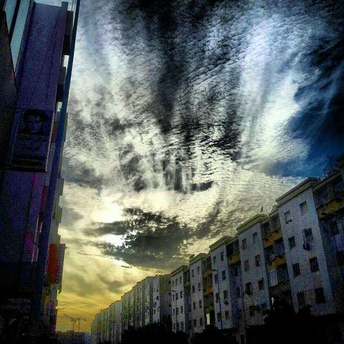 Agadir Maroc le ciel gadiri cc @chaipai11 @illayali :)