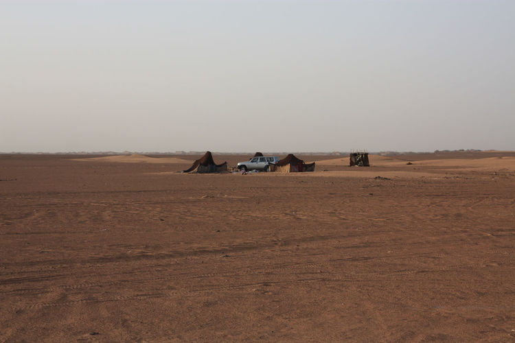Off Road Vehicle In A Desert